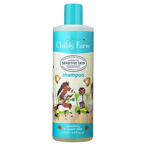 Childs Farm Shampoo, Strawberry & Organic Mint, 500ml