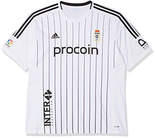 adidas Fort14 Jsy P Camiseta Real Oviedo 3ª equipación Hombre, Blanco (Blanco), L