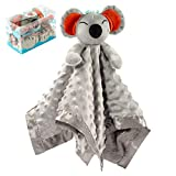 Baby Lovey, Security Blankets SHMILY Help Babies Fall Asleep and Feel Safe, Also As Stuffed Toys for Newborns, Infants, Toddlers, Boys and Girls. Soft, Skin Friendly, Silky Touch (Koala)