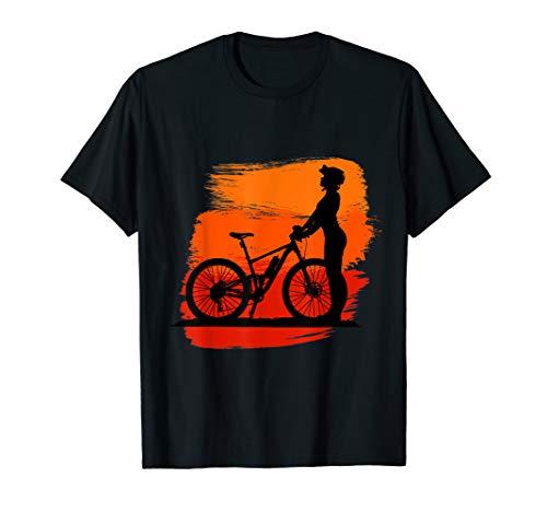 Racing Bikes Gift idea for biking bike & Mountain Lovers T-Shirt