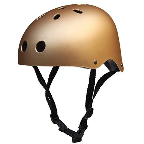 Lixada Fahrradhelm Sports Helmet Verstellbare atmungsaktive Kopfbedeckung Radhelm für Skater Roller Fahrrad Erwachsene und Kinder