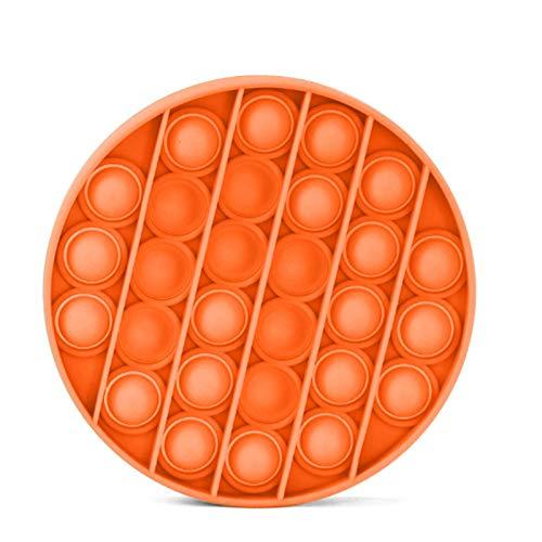 JiYanTang Juguete para apretar Juguetes de descompresión Push Pops Bubble Juguete sensorial Necesidades de Autismo Juguetes Quishy Stress Reliever Adult Kid Funny Anti-Stress Pops It Reliver Stress C