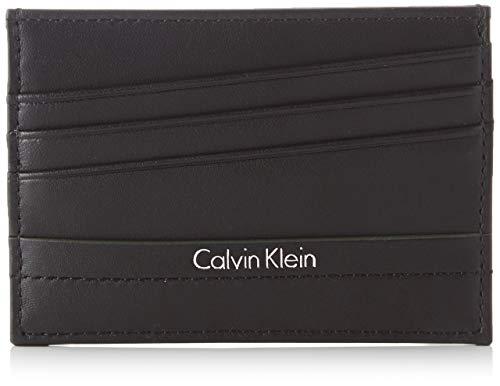 Calvin Klein Jeans Elias Cardholder, Tarjetero para Hombre, Negro (Black), 1 x7 x10 cm (B x H x T)