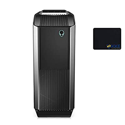 2020 Alienware Auaora R8 Tower Gaming Desktop PC, Intel Core i5-9400, NVIDIA GeForce GTX 1650, 32GB DDR4 Memory, 1TB PCIe Solid State Drive + 2TB HDD, WiFi, HDMI, KKE Mousepad, Black