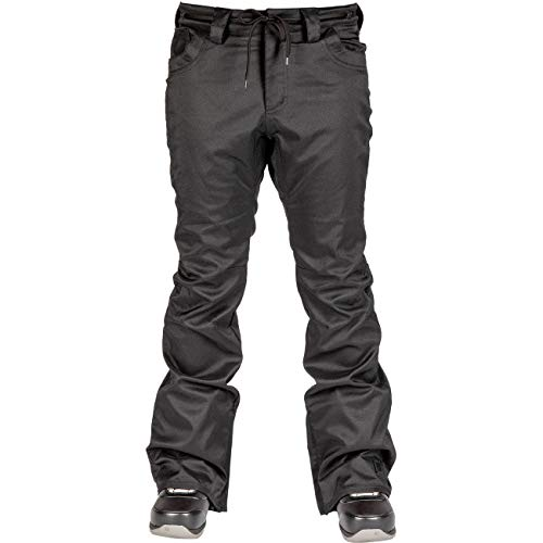 L1 Heartbreaker Twill, 20 dames, functionele snowboardbroek, warme, smalle en verticale broek, skinny fit