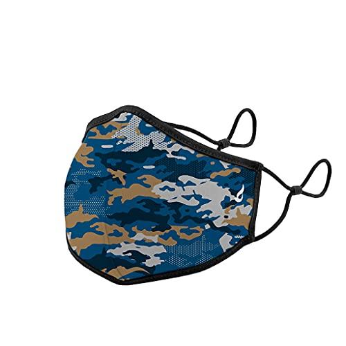 Abbacino mascarilla homologada y lavable para adulto con ajuste nasal estampado camuflaje