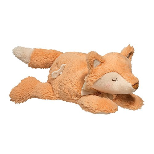 Knuffel speelgoed 6604 verlegen kleine vos muzikale pluche speelgoed, 33 cm lang