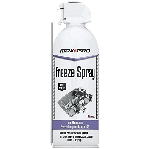 MAX Professional 7777 Blow Off Freeze Spray Electronic Component Cooler, FR-777-777 (10 oz)