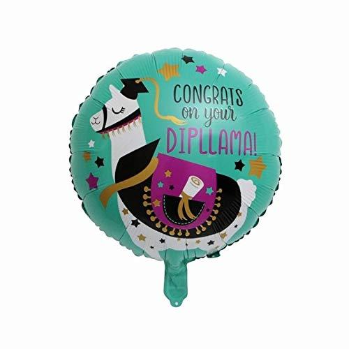 Great Price! Xucus 50pcs 18 Congrats Grad Balloons Graduation 2019 Foil Balloons Graduation Gift Gl...