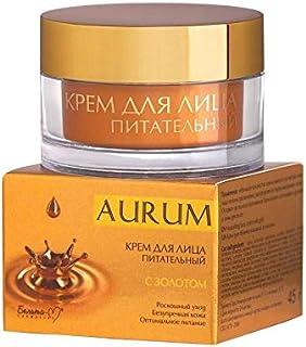 Bielita & Vitex | NUTRITIONAL FACE CREAM WITH GOLD | AURUM | Luxury care | Flawless skin | Optimal nutrition | Age: 25+
