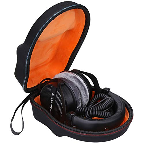 Mchoi Hard Portable Case Compatible with Beyerdynamic 459038 DT 990 PRO Open Studio Headphone(Case Only)