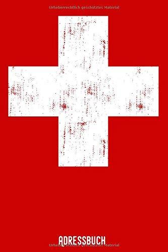 Adressbuch: Telefonbuch - Schweiz - Alle Kontakte auf einem Blick - 120 Seiten alphabetisch geordnet