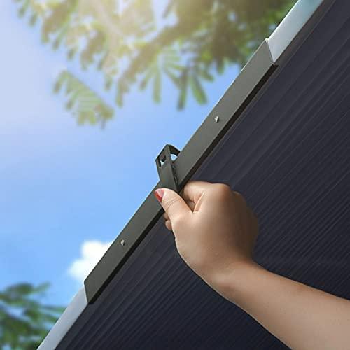 AKEFG Parasol de Coche para Parabrisas, de AcordeóN, RetráCtil, Extensible Y Frontal, Recortable ProteccióN contra Los Rayos UV