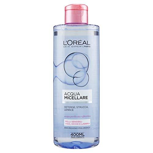 L'Oréal Paris Detergenza Acqua Micellare per Pelli Sensibili, 400ml