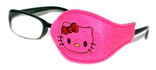 Kinder und Erwachsene orthoptic Eye Patch für Amblyopie Lazy Eye okklusion Therapie Behandlung Design # 32Pink Kitty auf rosa, Pink