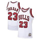XXOO Jordan 23 # Jersey blanco, bordado retro uniforme de baloncesto, ropa de entrenamiento transpirable color blanco-2XL