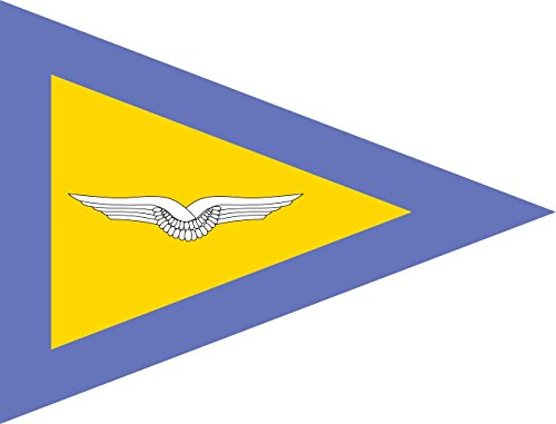DIPLOMAT Flagge Bataillonskommandeur Luftwaffe Bundeswehr   Querformat Fahne   0.06m²   21x28cm für Flags Autofahnen