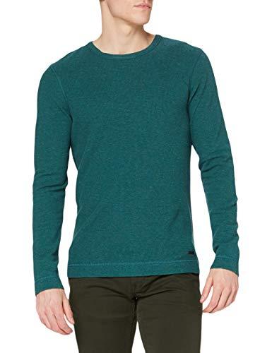 BOSS Tempest Camiseta, Open Green355, XXXL para Hombre