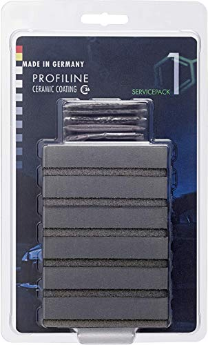 SONAX PROFILINE CeramicCoating CC36 ServicePack 1 (6 Stück) Applikationsschwämme für die erste Versiegelungsstufe (Basecoat 1) des Ceramic Coating CC36   Art-Nr. 02367410