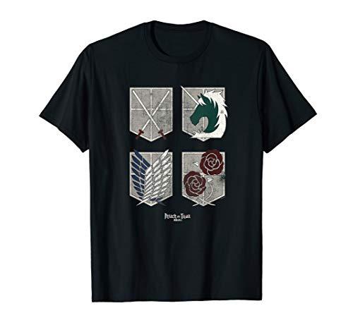 Attack on Titan Large Colossal Titan Face Angular T-Shirt