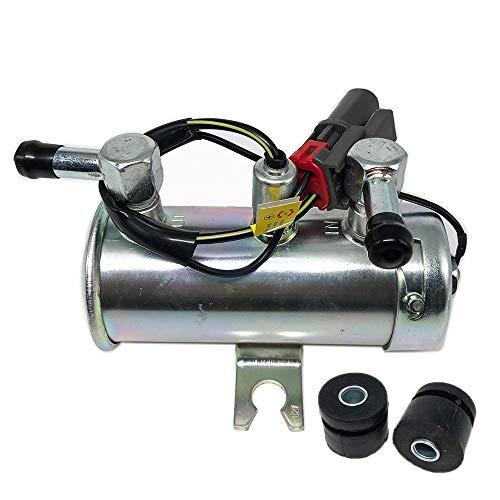 MQEIANG Universal Electric Fuel Pump Car Van Diesel Benzin-Motor Facet Stil Niederdruck 12V (Color : Silver)