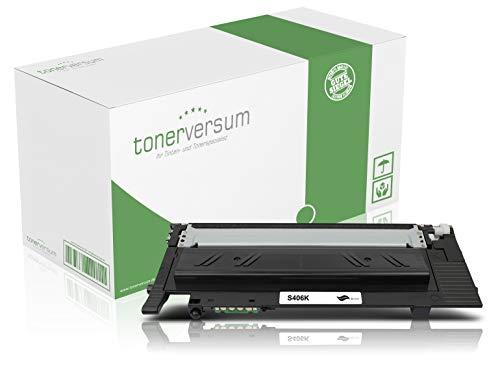 Toner kompatibel zu Samsung CLT-K406S Schwarz Druckerpatrone für CLP 360 365 Xpress C410w C460w C460fw CLX 3300 3305 Laserdrucker