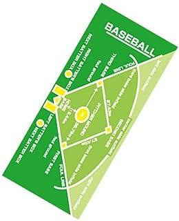 作戦ボードタオル・野球/スポーツタオル/green(緑)