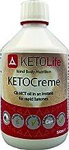 KETOCreme C8 MCT oil emulsion for rapid ketones 500ml Estimated Price : £ 21,99
