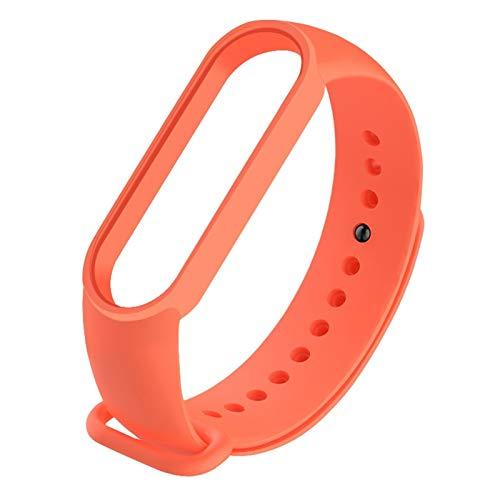 DALIANMAO Correa de silicona para pulsera Mi5, multicolor, de repuesto para reloj inteligente para accesorios Mi5 (color: 2, tamaño: 1 unidad)