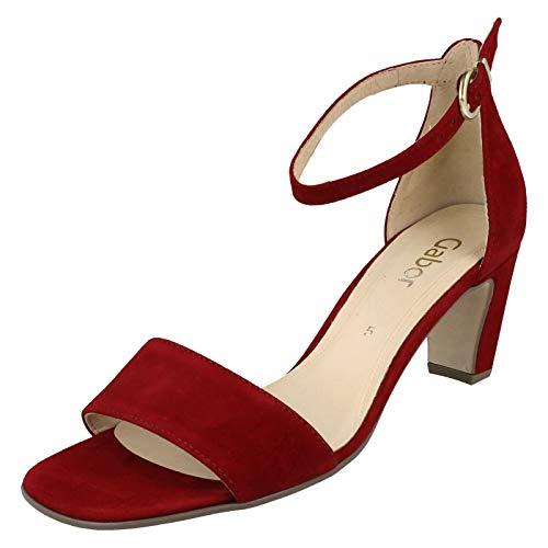 Gabor Damen Fashion 41.79 Riemchensandalen, Rot (Rubin 15), 39 EU