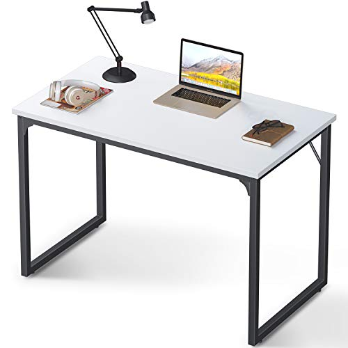 Coleshome Computer Desk 39', Modern Simple Style Desk for Home Office, Sturdy...