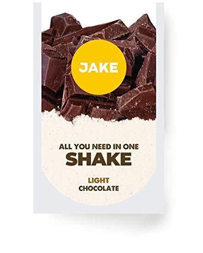 Jake Chocolate Light 40 Meals │ Vegan Meal Replacement Powder Shake, Plant-Based, Nutrient Dense, High Protein