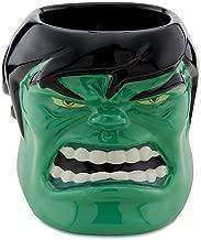 Disney Sculptured Incredible Hulk Mug Marvel Comics Three-dimensional Brand New