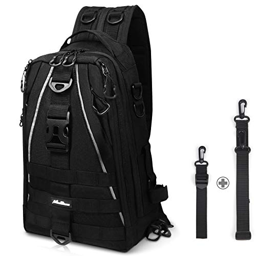 MoiShow Fishing Tackle Backpack Storage Bag,...