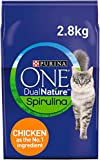 Purina ONE Dual Nature Adult Cat Food Chicken 2.8kg - Case of 4 (11.2kg)