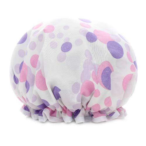 Bonnet de douche Design Femme élégante douche imperméable Cap Bath