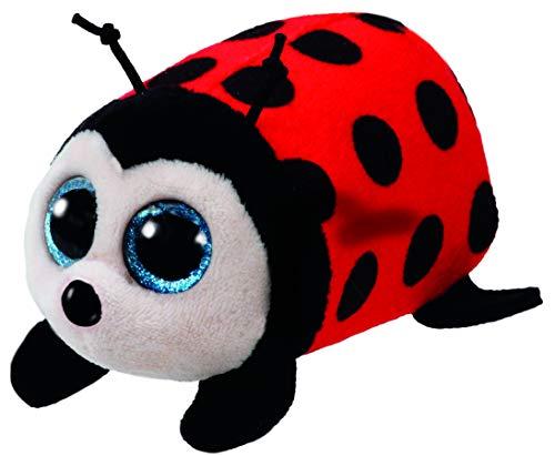 Ty–TY41238–Plüschtier–Trixy der kleine Marienkäfer