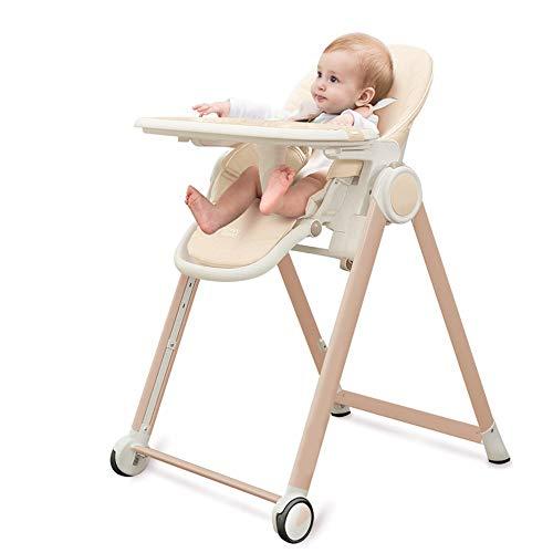 Buy Bargain Lumeng High Chair 3-Position Reclining Seat Baby Highchair Folding Portable Feeding Snac...