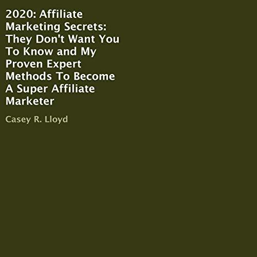 2020: Affiliate Marketing Secrets Titelbild