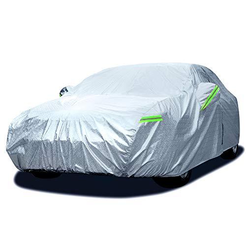 Dripex Sedan Car Cover Waterproof Rain Dust Sun UV All Weather Waterproof...