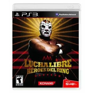 NEW Lucha Libre AAA Ranking TOP14 Heroes Elegant Videogame PS3 Software