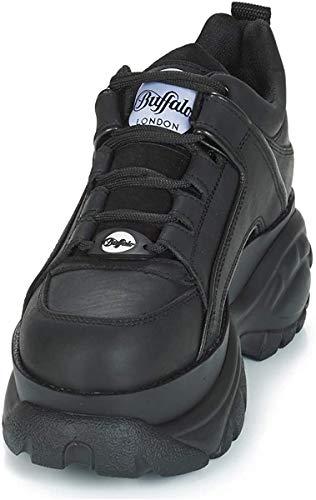 Buffalo 1339-14 2.0 Damen Sneaker, Schwarz, 37 EU
