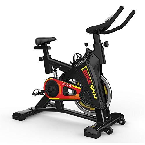 QuRRong Bicicletas de Ejercicio Cubierta Ultra Silencioso Vertical Bicicleta Estática Es Adecuado For Gimnasio En Casa Aerobic De Soporte De Peso 200 Kg De Medida Adaptable para Ciclismo casero