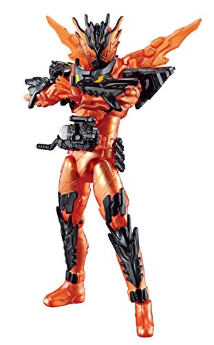Bandai Kamen Rider Build RKF Legend Rider Series Kamen Rider Cross-Z Magma Action Figure
