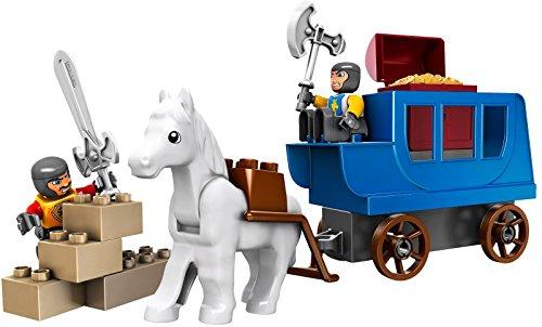 LEGO Duplo 4862 - Castle Kutsche mit Schatz, 15 Teile