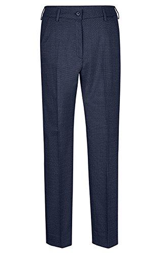 GREIFF Damen-Hose Slim Fit, modern with 37,5, Slim fit, 1374, Pinpoint Marine, Größe 42