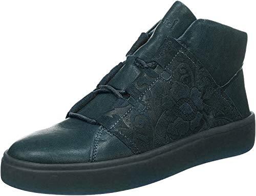 Think! Damen GRING_585206 Hohe Sneaker, Blau (Petrol/Kombi 92), 41 EU
