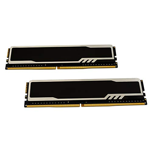 LC-POWER LC-RAM-DDR4-3200-HS-16GB-KIT 16GB (2x8GB) DDR4 3200MHz C16 XMP 2,0 High Performance Desktop Channel Memory Arbeitsspeicher Kit (8x2)