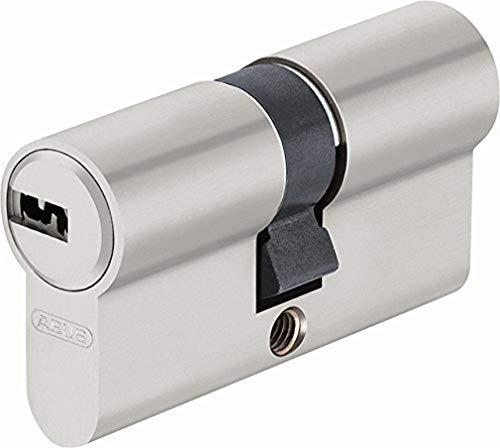 Abus, 44994, EC-SNP 30/30, Cilindro de doble vuelta para puertas / entradas exteriores, Plateado, 30/30 mm