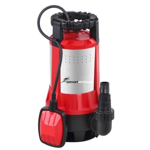 Spessart Niro Schmutzwasserpumpe Tauchpumpe Wasserpumpe TSP 550 I